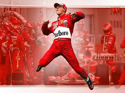 "028 Michael Schumacher - Mercedes Germany F1 Racing Driver 18""x14"" Poster"