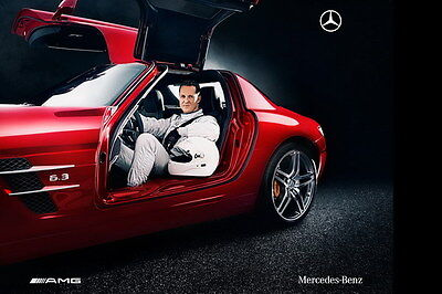 "024 Michael Schumacher - Mercedes Germany F1 Racing Driver 21""x14"" Poster"