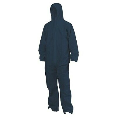 Disposable Coverall Overall Blue Type 5/6 Lightweight Breathable