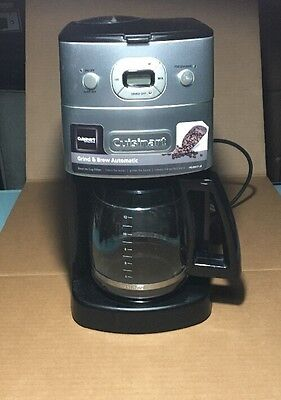 cuisinart grind and brew automatic coffee machine