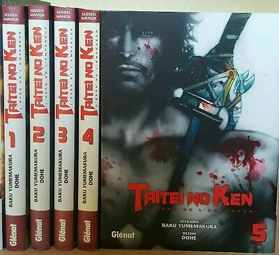 Collection complete manga Taitei no Ken tomes 1 à 5