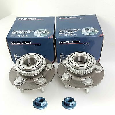 GENUINE MACHTER Ford Falcon Front Wheel Bearing Hub & NUT AU BA BF Territory 2WD