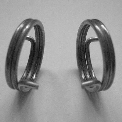 6 Door Handle Springs, 1.65mm wire, 3 Handed Pairs (2 + 1/2 turn coil) Brand NEW