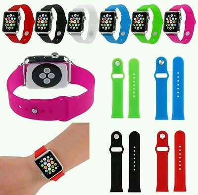 Cinturino Bracelet Band Silicone Fitness Watchband For Apple Watch iWatch 38mm