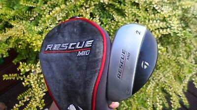Taylor Made Rescue Mid, Steel Shafted Left Handed 2 Hybrid,