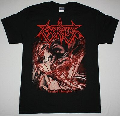 Morgue Eroded Thoughts Death Metal Monstrosity Brutal Truth New Black T-Shirt