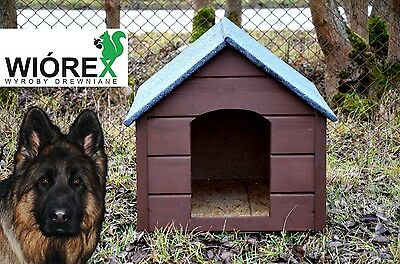 Weather Proof Pet Puppy Wooden Dog Kennel House Indoor Outdoor Insulation Xl