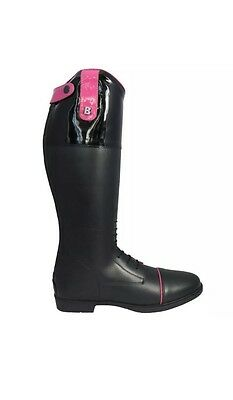 Brogini Ginny Patent Leather Riding Boots