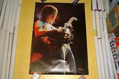 Jeff Beck Japan Poster 1977 Article Not For Sale