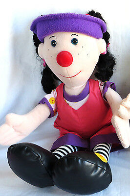 """Big Comfy Couch Loonette Doll 20"""" 2002"""
