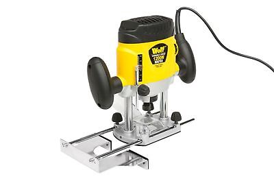 Wolf 1200w 240v Electric Variable Speed Plunge Router Cutter Collet Woodworking