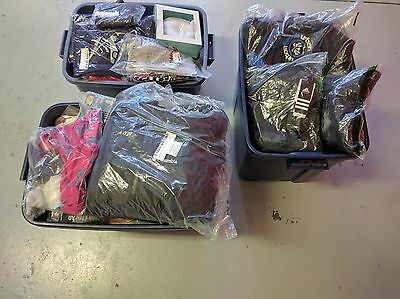 Brand NEW and sealed Mixed Lot of Apparel Women's, Mens, Children 130+ pieces