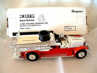New York Fire Chiefs 1926 Seagrave Fire Truck Bank by Ertl