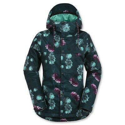 Giacca Snowboard Donna Volcom Bolt Insulated Jacket Emerald Green