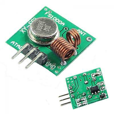 For Arduino/ARM/MCU Transmitter & Receiver Kit RF Wireless 433Mhz Module
