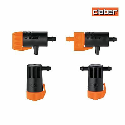 Claber Drippers In Line & End of Line - Hozelock compatible.