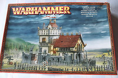 Warhammer Warhammer The Empire Fortified Manor Sigmar Frostgrave Rare Scenery GW