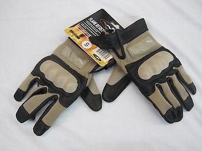 Wiley X Cag-1  G231 Tactical Combat Assault Gloves Coyote Tan - Small