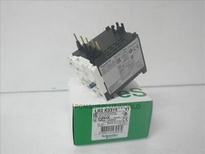 LR2 K0314 Schneider Electric thermal overload relay 5.5-8A (New)
