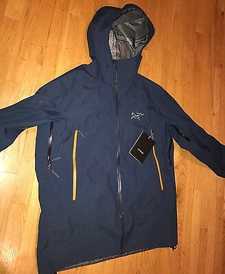 NWT ARC'TERYX ARCTERYX SABRE JACKET MEN'S SMALL  BLUE MOON 11113 Authentic