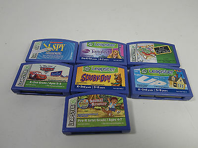 Lot Of 7 Leapster Games
