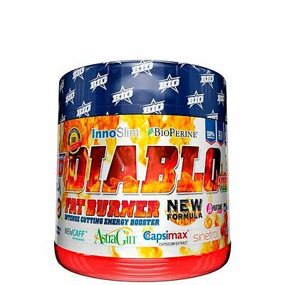 Diablo Fat Burner 120 capsulas BIG (Quemagrasas)