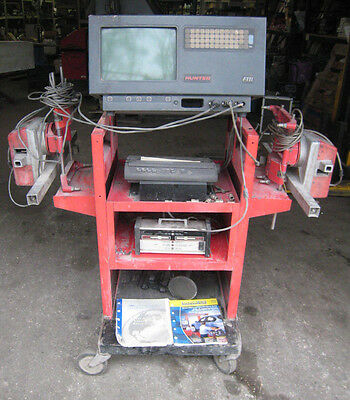 Used Hunter Model F111 Computerized Alignment Machine Free Shipping