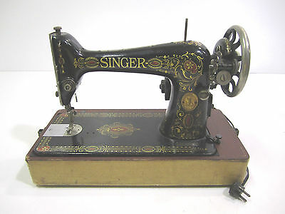 singer hand crank sewing machine instructions