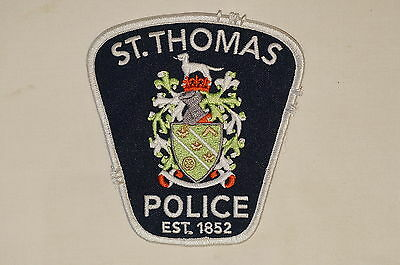 Canadian St Thomas Police Patch Obsolete 2