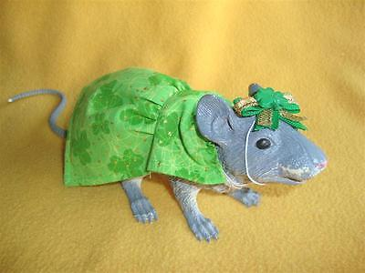 St. Patrick's Day Outfit for Rat from Petrats
