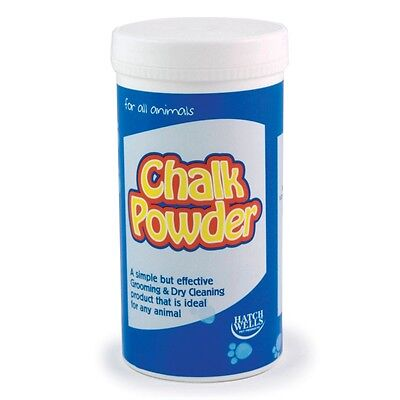 Hatchwells Animal White Chalk Powder Grooming/Cleaning/Showing, 450G