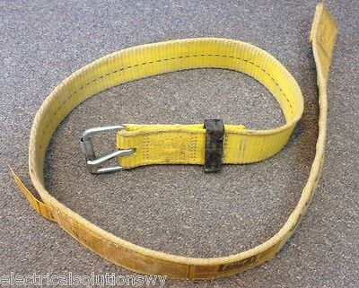 USED LARGE DBI-SALA Belt for Work Safety Harness 0 Anchor Points Size L LOT AVLB