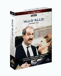 'Allo 'Allo - Series 1 And 2 (DVD, 2002, 3-Disc Set, Box Set)