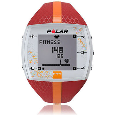 Polar FT7 Ordinateur d'entraînement Red/Orange