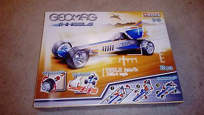 Geomag Magnetic World Wheels Dragster Sealed In Box