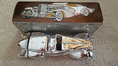Avon Silver Duesenberg Collectors Edition Wild Country Cologne