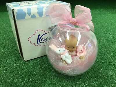 "Kewpie ""Bunny Love Easter Ornament "" 1671-75"