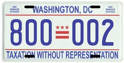 Donald Trump for President Washington D.C. Inauguration License plate