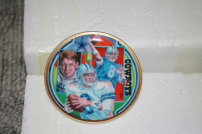 Sports Impressions Mini Plate Collection Troy Aikman