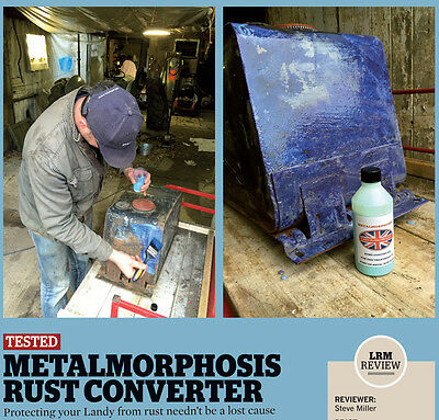 plasma cutter  Rust Converter,Treatment ,primer,1 litre freepost Metalmorphosis,