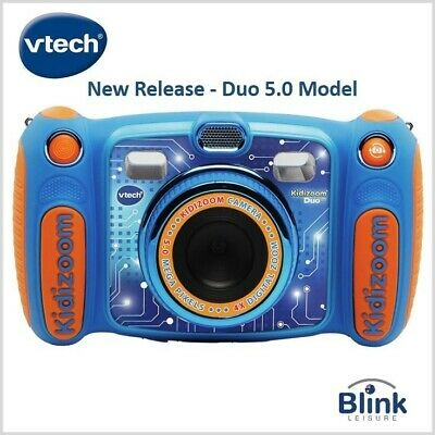 VTech Kidizoom Duo Camera - Movie Camera - Voice Recorder (Blue)