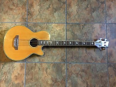 Surf City Acoustic Electric Bass Guitar 4 String NICE