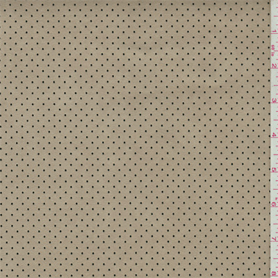 Beige Mesh Ultrasuede, Fabric By The Yard