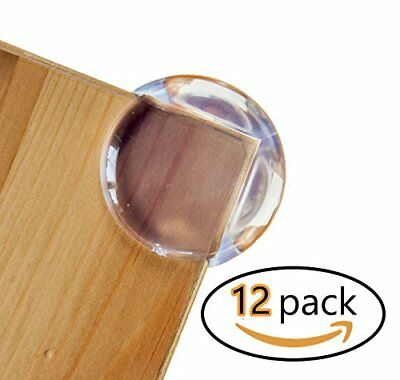 Baby Proofing Corner Protector Guards [12 Pack] Child Safety Edge & Cushion Corn