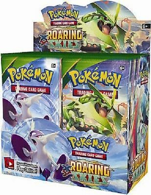 Pokemon XY Roaring Skies Booster New Sealed TCG Card Game - 4x New BOOSTER PACKS