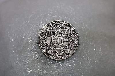Morocco 50 Centimes 1922 Nd A60 #z7032