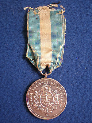 Argentina: Medal for the Corrientes National Guard1865-1869.