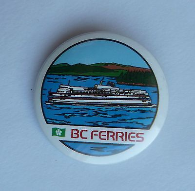 BC Ferries British Columbia Lapel Souvenir Pin Button
