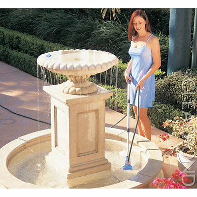 Clearpond Turbo Pond Vacuum for Small Ponds, Spas and Paddling Pools