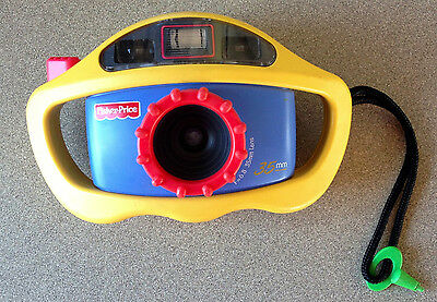 Fisher Price 35mm Camera   Dated 1999